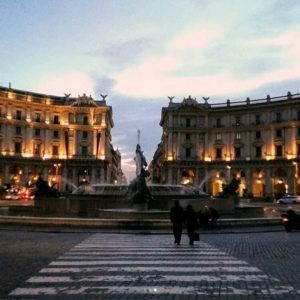 L'Italia nelle strade di Roma