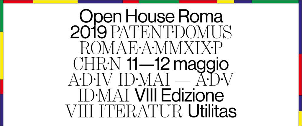 Open House Roma 2019
