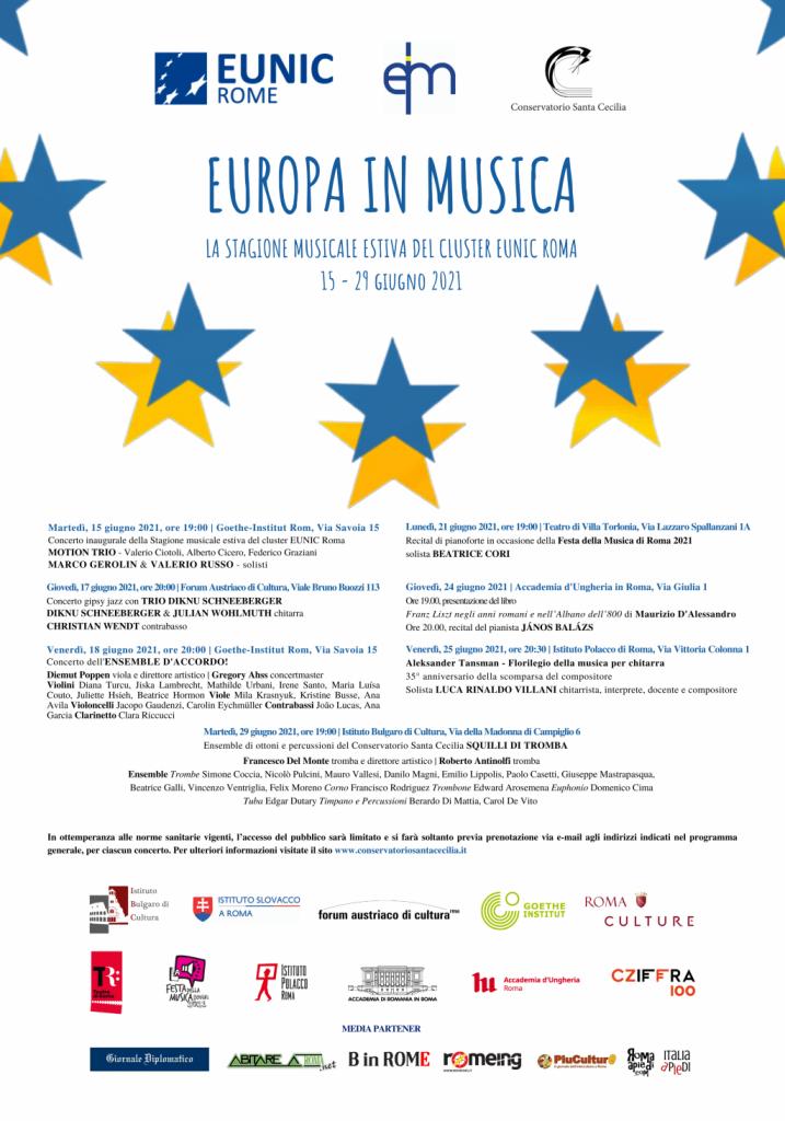 Europa in Musica 2021